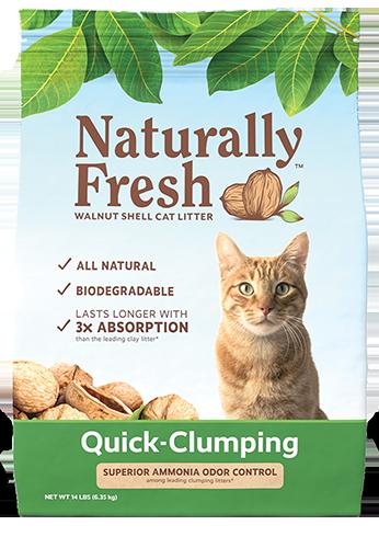 Quick-Clumping - Naturally Fresh Litter